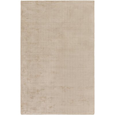 Blosser Hand-Loomed Beige Area Rug Rug Size: Rectangle 76 x 96