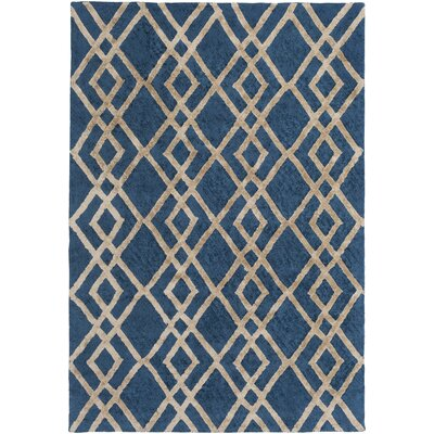 Bradt Hand-Tufted Area Rug Rug Size: Rectangle 5 x 76