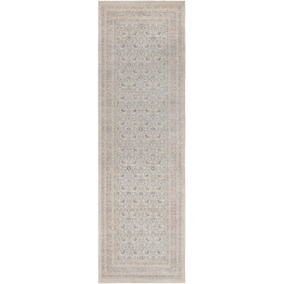 Kessinger Blue Area Rug Rug Size: Runner 23 x 73