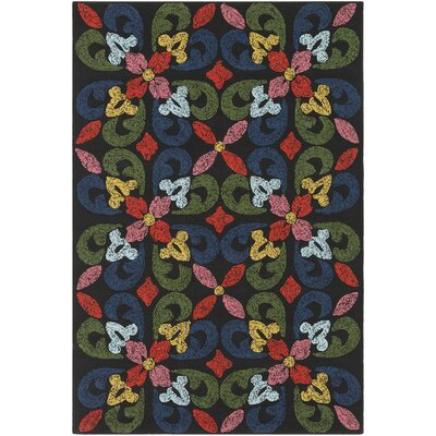 Mayan Naran Hand-Tufted Indoor/Outdoor Area Rug Rug Size: 4 x 6