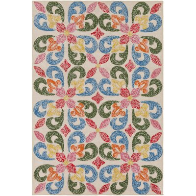 Dillman Hand-Tufted Indoor/Outdoor Area Rug Rug Size: 4 x 6