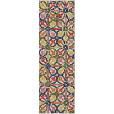 Mayan Nima Hand-Tufted Indoor/Outdoor Area Rug Rug Size: 5 x 76