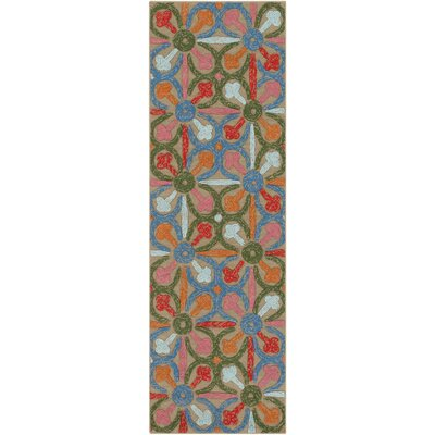 Dimarco Hand-Tufted Indoor/Outdoor Area Rug Rug Size: Rectangle 4 x 6