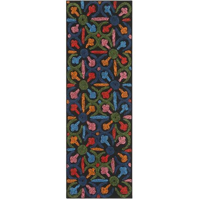 Dimarco Hand-Tufted Indoor/Outdoor Area Rug Rug Size: Runner 26 x 8