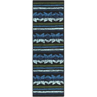Dillow Hand-Tufted Indoor/Outdoor Area Rug Rug Size: Runner 26 x 8