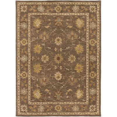 Plemmons Brown Area Rug Rug Size: Round 36