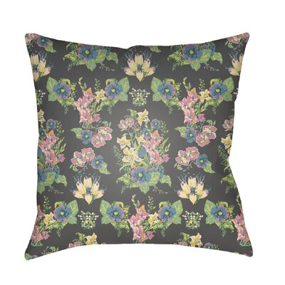 Dysart Indoor/Outdoor Throw Pillow Size: 20 H x 20 W x 3 D, Color: Navy