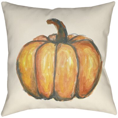 Lodge Cabin Squash Indoor/Outdoor Throw Pillow Size: 18 H x 18 W