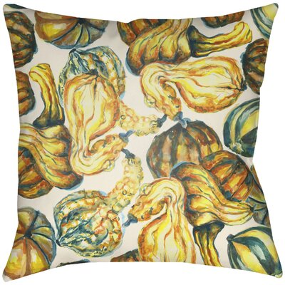 Lodge Cabin Harvest Indoor/Outdoor Throw Pillow Size: 20 H x 20 W