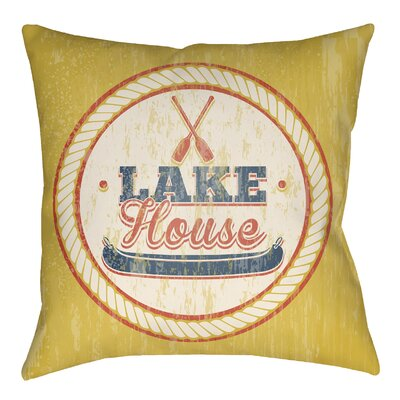 Pizano Lake Indoor/Outdoor Throw Pillow