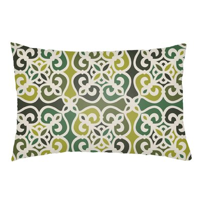 Alvey Indoor/Outdoor Lumbar Pillow Color: Olive Green/Forest Green