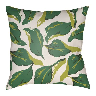 Lolita Lotus Indoor/Outdoor Throw Pillow Size: 18 H x 18 W
