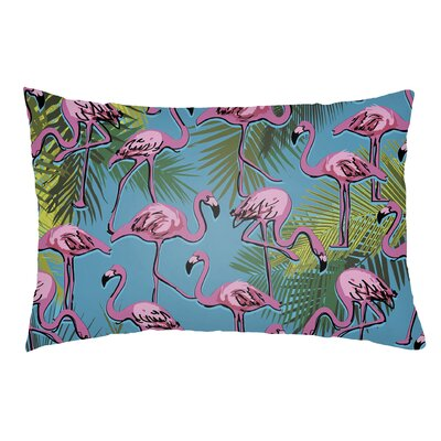 Lolita Flamingo Indoor/Outdoor Lumbar Pillow