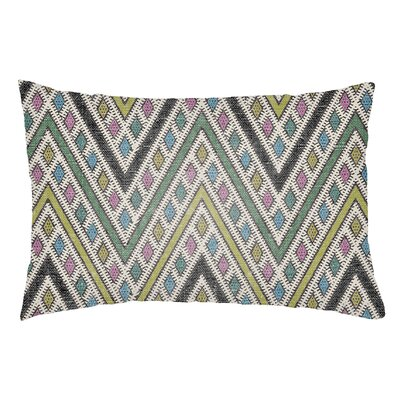 Lolita Leilani Indoor/Outdoor Lumbar Pillow Color: Kelly Green/Lime Green