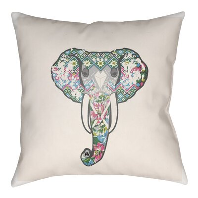 Dimattia Indoor/Outdoor Throw Pillow Size: 16 H x 16 W