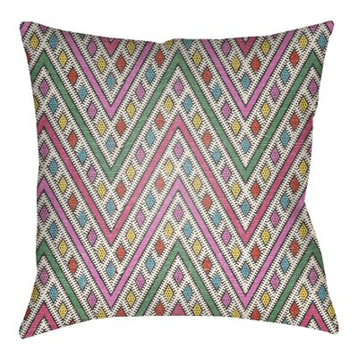 Lolita Leilani Indoor/Outdoor Throw Pillow Size: 20 H x 20 W, Color: Hot Pink/Fuchsia