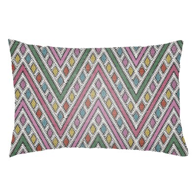 Lolita Leilani Indoor/Outdoor Lumbar Pillow Color: Hot Pink/Fuchsia
