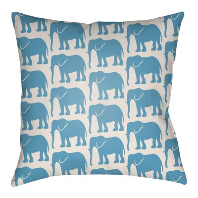 Lolita Elephant Indoor/Outdoor Throw Pillow