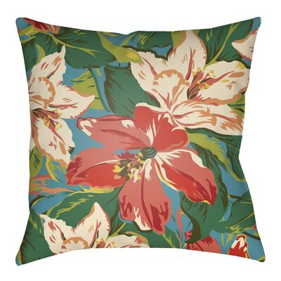 Fulton Indoor/Outdoor Throw Pillow Size: 16 H x 16 W