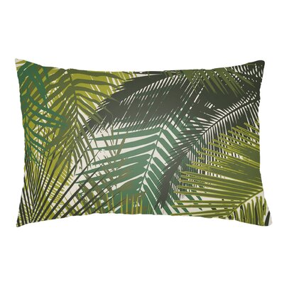 Lolita Palm Indoor/Outdoor Lumbar Pillow Color: Lime Green/Olive Green