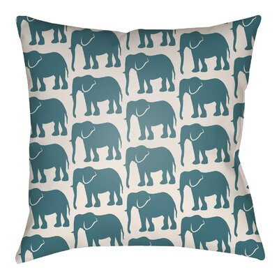 Kalgoorlie Elephant Indoor/Outdoor Throw Pillow
