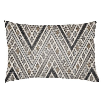 Lolita Leilani Indoor/Outdoor Lumbar Pillow Color: Gray/Light Gray