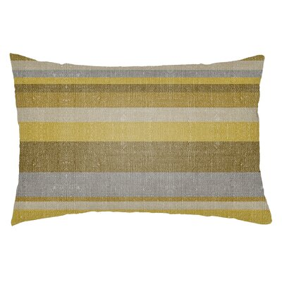 Zebrowski Indoor/Outdoor Lumbar Pillow Color: Gold/Bright Yellow