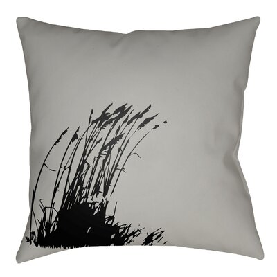 Cournoyer Indoor/Outdoor Throw Pillow Size: 20 H x 20 W, Color: Gray/Onyx Black