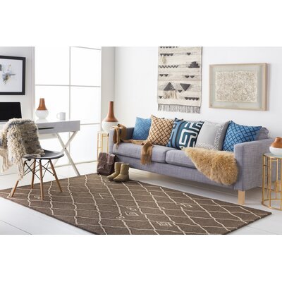 Juergens Hand-Tufted Nutmeg Area Rug Rug Size: Runner 2 x 8