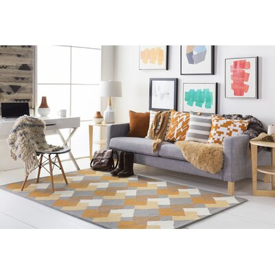 Younker Hand-Crafted Multi-Colored Area Rug Rug Size: Runner 23 x 10