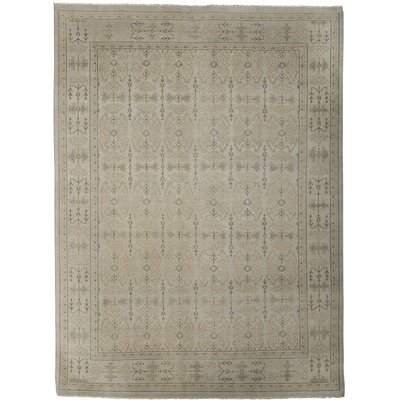 Anatolia Bodrum Silver/Sand Area Rug Rug Size: 6 x 9