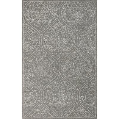 Serendipity Steel Oxford Gray Area Rug Rug Size: 76 x 96