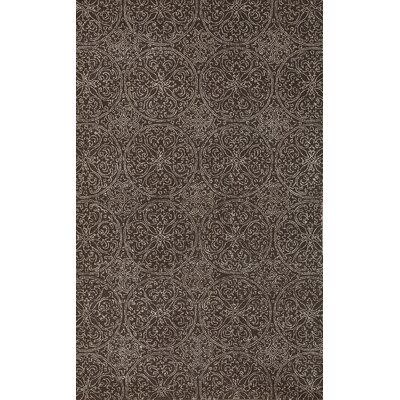 Serendipity Ghent Area Dove Gray Area Rug Rug Size: 76 x 96