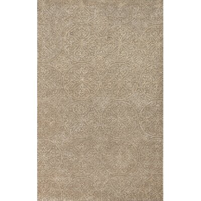 Serendipity Ghent Platinum Area Rug Rug Size: 5 x 8