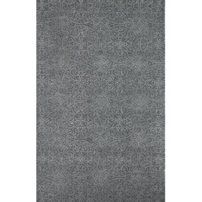 Serendipity Steel Ghent Gray Area Rug Rug Size: 8 x 11