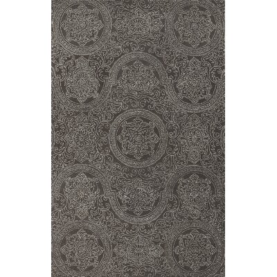 Ascent Dove Grant Gray Area Rug Rug Size: 76 x 96