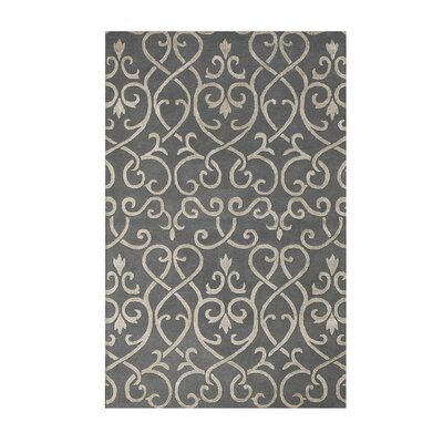 Studio Moore Stone Blue Area Rug Rug Size: 8 x 11