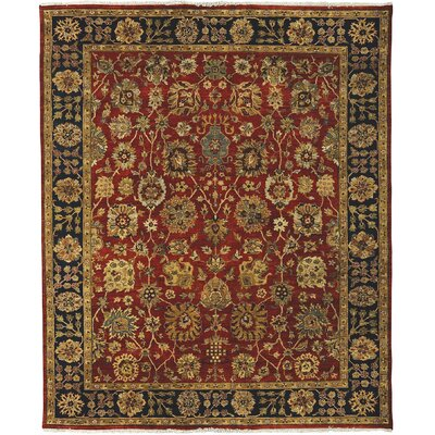 Antiquity Tyrus Rust/Navy Area Rug Rug Size: 2 x 3