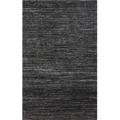 Banaras Ebony Area Rug Rug Size: 2 x 3