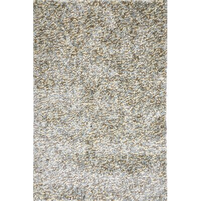 Cassie Hand-Woven Gray Sky Area Rug Rug Size: 2' x 3'