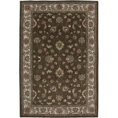 Mosaic Brown/Beige Santa Balbina Rug Rug Size: 8 x 11