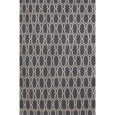 Welborn Dove Gray Area Rug Rug Size: 8 x 10