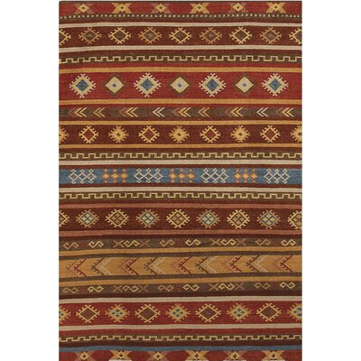 Galey Burned Orange Area Rug Rug Size: 3 x 5