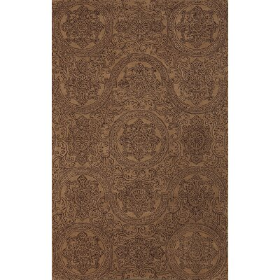 Ascent Grant Camel Area Rug Rug Size: 76 x 96