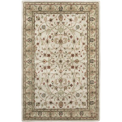 Earlville Ivory / Beige Pius Area Rug Rug Size: Rectangle 2 x 3