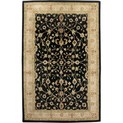 Earlville Ebony / Beige Pius Area Rug Rug Size: Rectangle 2 x 3