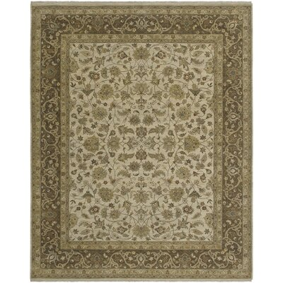 Antiquity Arles Beige/Brown Area Rug Rug Size: 6 x 9