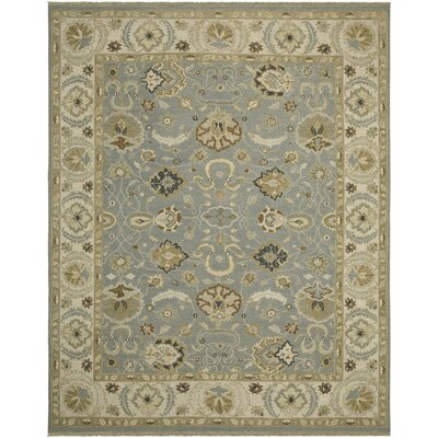Cowden French Blue/Ivory Area Rug Rug Size: 2' x 3'