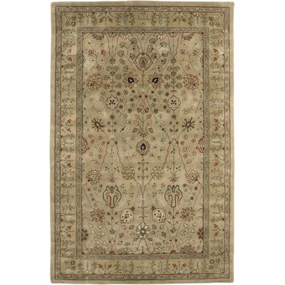 Leopoldo Gold / Dark Gold Benedict Area Rug Rug Size: Rectangle 76 x 96