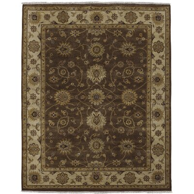 Cowen Chocolate/Beige Area Rug Rug Size: Rectangle 6 x 9